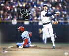Brewers ROBIN YOUNT Signed 16x20 AUTO Photo #8 AUTO ~ HOF '99 ~ MVP '82 & '89