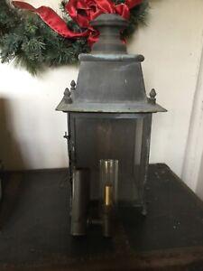 L Dorvaux lantern Paris 1913 electric antique vintage