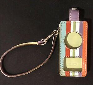 New Coach Leather Ipod Nano Colorful Case