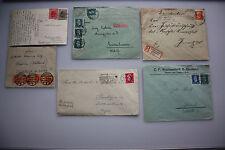 59 Belege und Karten national , international - interessante Sammlung ab 1879