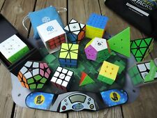 Rubik's Cube Variety Collection Gan, Qiyi, X-man, 3x3, 4x4, 5x5, Pyraminx + more