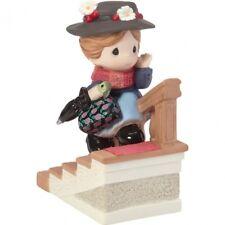 $ New PRECIOUS MOMENTS Disney Porcelain Figurine MARY POPPINS Magical Umbrella