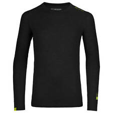 Ortovox Herren Merino Unterhemd, Merinounterwäsche, 105 Ultra Long Sleeve Gr: M