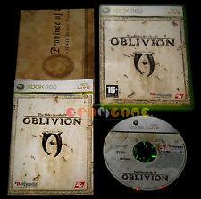 THE ELDER SCROLLS IV OBLIVION Xbox 360 Versione Italiana 1ª Edizione •• COMPLETO
