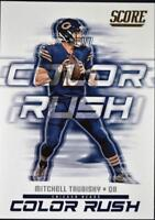 2018 Score Football Color Rush Insert Singles (Pick Your Cards)