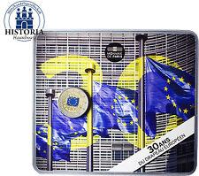 Frankreich 2 Euro 2015 Europaflagge Gedenkmünze in Farbe in CoinCard