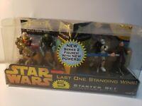 Hasbro Star Wars Attacktix Action Figure Anakin Mace Windu Clone Commander MISB