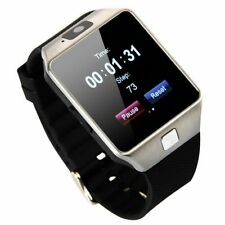 Dz09 Sim reloj inteligente Smart Watch Android Samsung Cámara Bluetooth WhatsApp