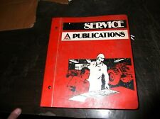 ORIGINAL ALLIS CHALMERS GLEANER MODEL N5 N6 N7 COMBINES SERVICE MANUAL
