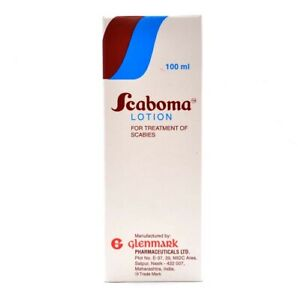 SCABOMA Lindane USP 1% w/v Lotion *For Scabies & Lice Treatment **100ml
