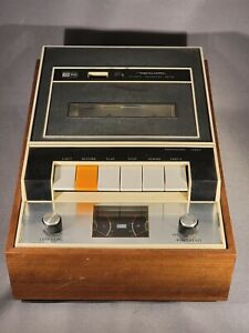 Vintage 1970's Realistic SCT-3 Wood Stereo Cassette Tape Deck Player / Recorder