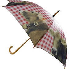 Schirme WunderschöNen Regenschirm Pferd Pferde 4 Verschiedene Motive Taschenschirm Durchmesser 92 Cm Zu Verkaufen