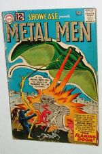 1962 SHOWCASE ISSUE #37 1st APPEARANCE OF THE METAL MEN COMPLETE GOOD
