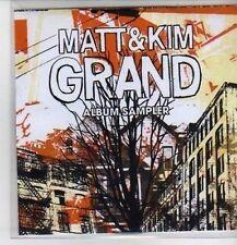 (CP926) Matt & Kim, Grand sampler - 2009 DJ CD