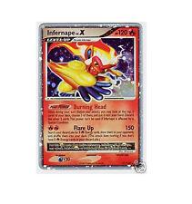 INFERNAPE LV.X LVX 121/130 Ultra Rare EX Holo Foil Pokemon Card