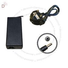 AC Laptop Charger For HP DV9000 dv8130us dv8140us90W PSU + 3 PIN Power Cord UKDC