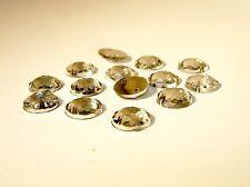 Strass Aufnähsteine, Strassstein Kristall 8mm, 30 Stück #P16