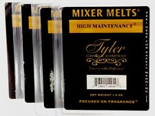 HIGH MAINTENANCE / FRAGRANCED MIXER MELTS- SET OF 4 PKGS. / TYLER CANDLE COMPANY