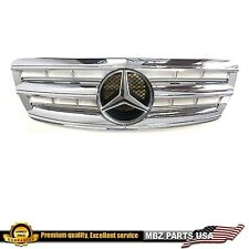 W220 S-Class All Chrome grille W-LED star AMG S500 S600 S55 Illuminated 03-06