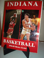 Indiana University Basketball Media Guide 1994 1995 Pat Knight Alan Henderson