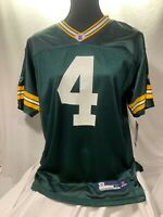 YXL BRETT FAVRE Reebok Authentic NFL Jersey GREEN BAY Packers Original Throwback