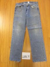 Used Levi 501 grunge feather jean tag 38x34 meas 34x33.5 22887F