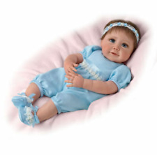 """Ashton Drake Baby Blue Eyes So Truly Real Baby 18 """" Doll by Sherry Mill"""