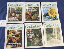 Garden Gate Magazine 6 Issue 1999 Starting Seeds Sunflowers Container Designs 13