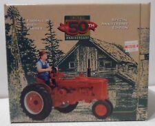 Ertl, 1/16 scale diecast ,Farmall H with farmer,50th Anniversary edition