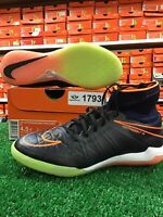 New Nike Jr HypervenomX Proximo IC Indoor Soccer Shoes Black / Multi  Size 4.5y
