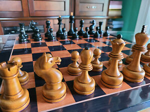 Mikhail Tal RARE Chess Set Tournament Soviet USSR Toothy Knight