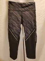New CHAMPION C9 Ankle Yoga Pants Black DuoDry Zip Pocket Women's XL XLarge