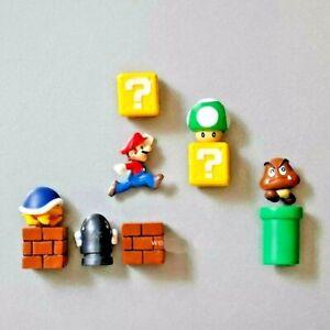 Mario Fridge Magnet Set