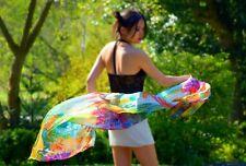 Art 100% silk scarf Natural Skincare Beauty shawl Muslim women fashion Hijab