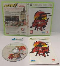Game Consolle Gioco Microsoft XBOX 360 PAL Picchiaduro SNK - SAMURAI SHODOWN SEN