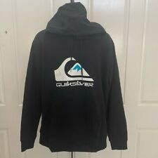NWT-Men's QUICKSILVER Black Pullover Hoodie XL