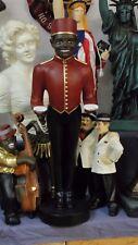 Black Boy Hotelpage Diener Kellner Butler Hotel Boy Figur Skulptur Junge Groß 84