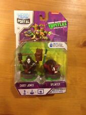 Hero Portal TMN TURTLES: Casey Jones and Splinter Booster Pack FREE SHIPPING