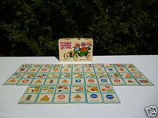 🌟 Jeux De Sociétés Éducatifs Domino Au Code De La Route Nathan Vintage
