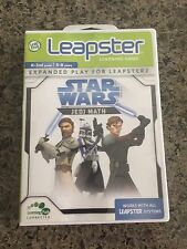 Leapster Leap Frog Star Wars Jedi Reading Game Only Cartridge K-2 5-8 Tested
