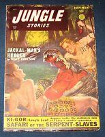 Jungle Stories Vol 4 #7  Summer 1949  Pulp Magazine  Bondage Cover