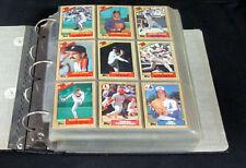 1987 Topps Baseball Set in Binder (792) Nm/Mt  * Barry Bonds RC Rose McGwire