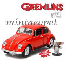 Greenlight 18231 Gremlins Movie 1967 Vw Volkswagen Beetle 1/24 with Gizmo Figure