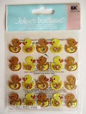 Jolee's Boutique 3D Stickers - Ducks Repeats - rubber duckie , duck , bath time