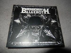 DEBAUCHERY vs Balgeroth - In der Hölle Spricht Man Deutsch ltd. DIGI 3CD NEU