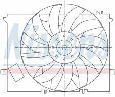 Radiator Fan Assy 85125 Nissens North America
