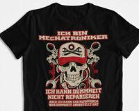 Mechaniker Mechatroniker Handwerker T-Shirt Geschenk  Autoschrauber S - 4XL