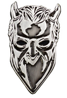 Trick or Treat Ghost Nameless Ghoul Satanic Metal  Music Band Enamel Pin BXGM102