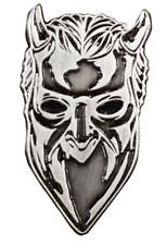 Trick or Treat Ghost Nameless Ghoul Satanic Metal  Music Band Enamel Pin BXGM102