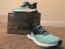 The North Face Rovereto Running Shoes- Aqua Spash/Peacoat Navy- Women's 9.5